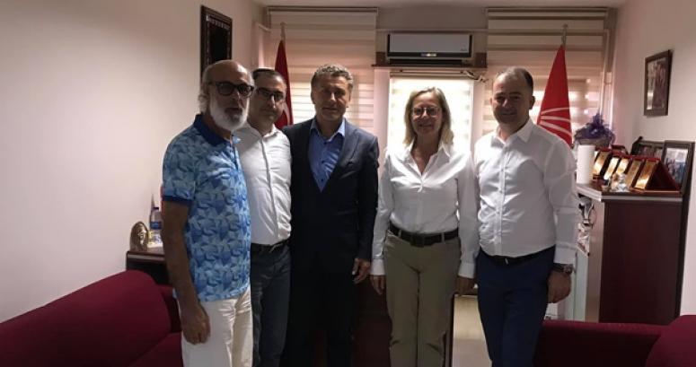 Sarıbal, CHP Silivri'yi ziyaret etti