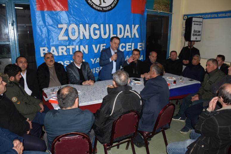 Zonguldak Bartınlılar Işıklar'ı Misafir Etti