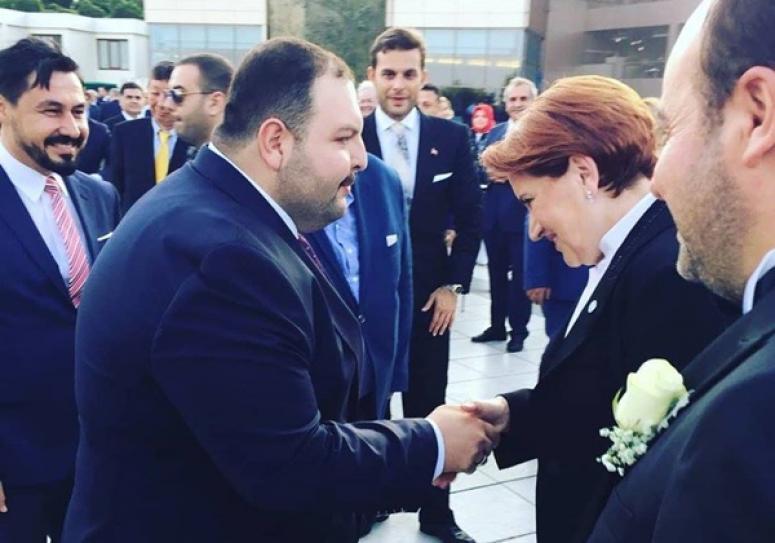 Ersaraç, Akşener'le Bir Araya Geldi