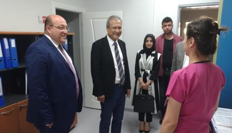 Kaymakam Partal'dan Selimpaşa Ek Hizmet binasına ziyaret