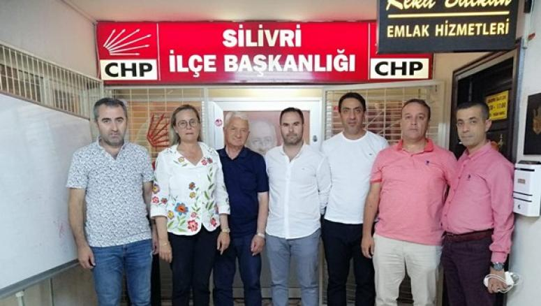 Silivrispor'dan CHP'ye ziyaret