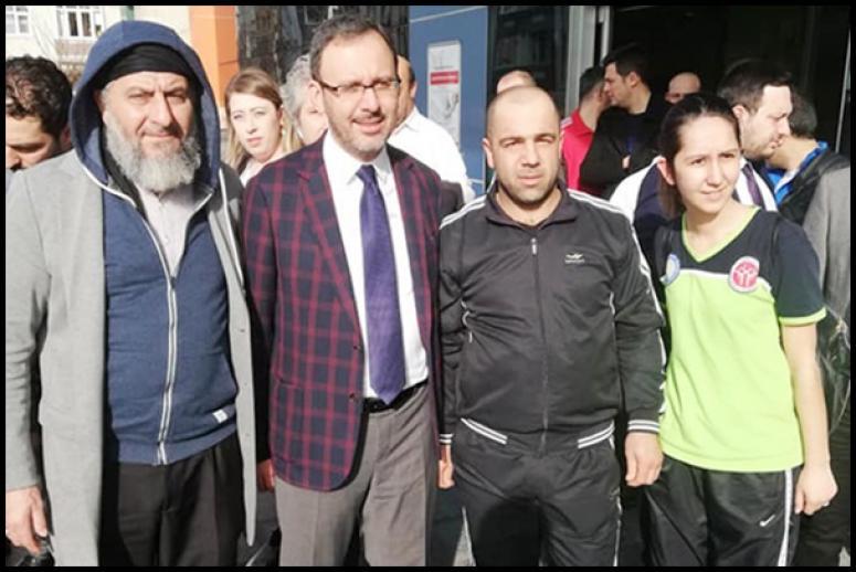 Taekwondo Kulübü'nden Kasapoğlu'na davet