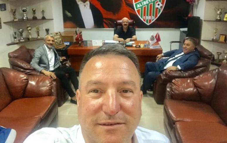 Alibeyspor'da Başkanlar zirvesi