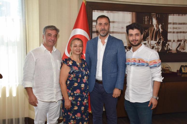 Başkan Yılmaz MHP'lileri ağırladı!