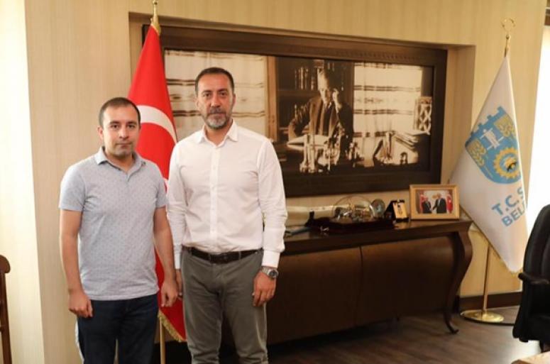 Başkan Yılmaz, Osman Alper Yıldırım'ı Ağırladı