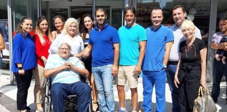 Cüneyt Arkın, Kolan Hastanesinde Sağlık Kontrolünden Geçti
