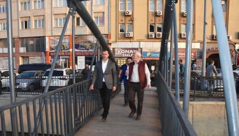 Altenatif Köprü, Yaya Trafiğine Açıldı