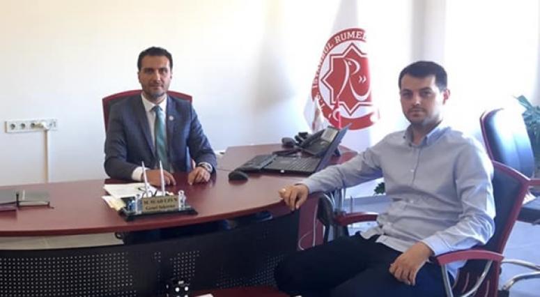 Çolakoğlu, Rumeli Üniversitesi'ne Davet Edildi