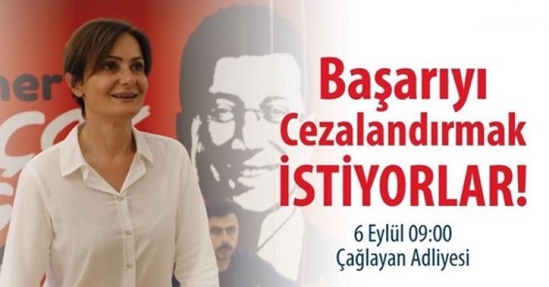 Göçengil'den Kaftancıoğlu'nun Duruşmasına Katılım Çağrısı