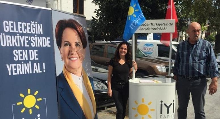 İYİ Parti Silivri'den Üyelik Çalışması