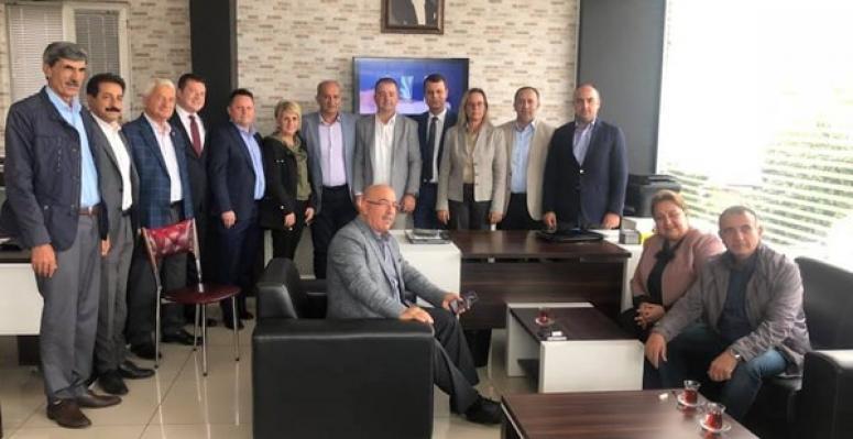 CHP'den Umuç'a Taziye Ziyareti