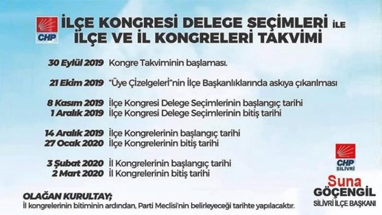 CHP'nin Kurultay Takvimi Belli Oldu! Göçengil'den İlk Açıklama…