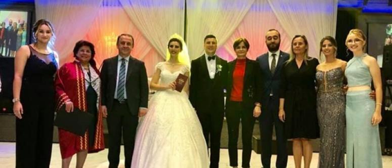 Berker Esen Evlendi, Canan Kaftancıoğlu Nikah Şahidi Oldu