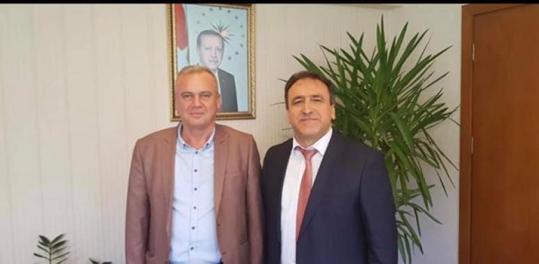 Barlas, İl Müdürü Karaca'yı Ziyaret Etti