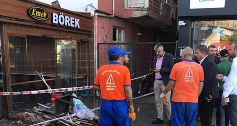 Başkan Aksu'dan İşyerleri Hasar Gören Esnaflara Ziyaret