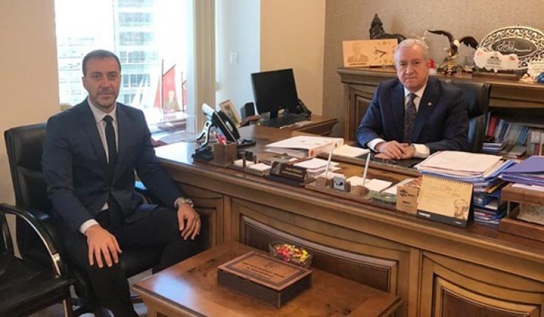 Yerel Yönetimlerden Sorumlu Genel Başkan Yardımcısına Ziyaret