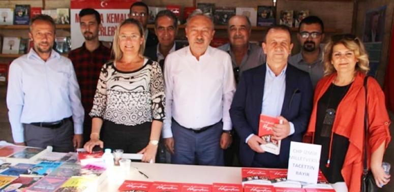 CHP'liler, Tacettin Bayır'ın Söyleşisine Katıldı