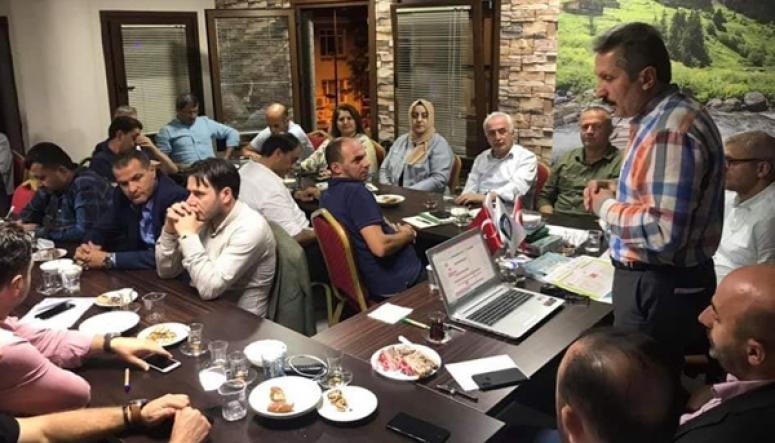 Azder, RİDEF Toplantısına Katıldı