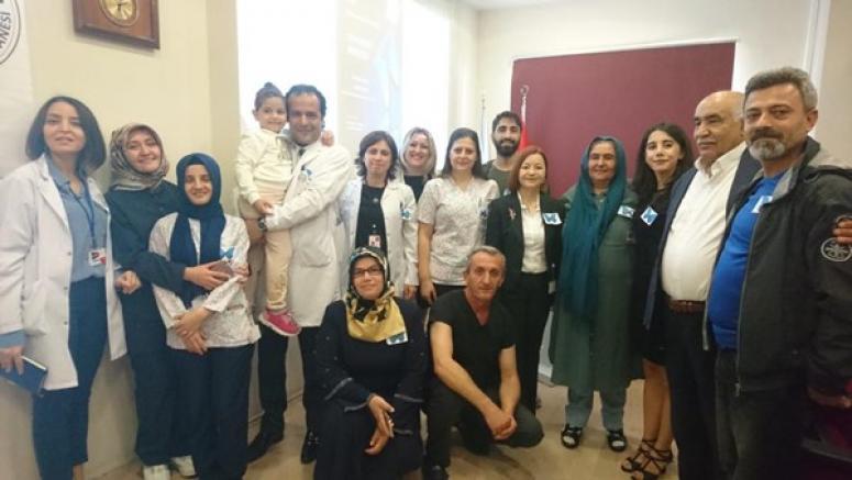 Palyatif Bakım Günü, Silivri Devlet Hastanesi'nde kutlandı