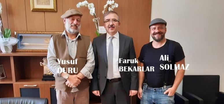 Solmaz'dan, Silivri eski Kaymakamı Bekarlar'a ziyaret