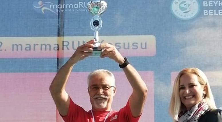 Dertop, MarmaraRUN Koşusunda Şampiyon Oldu