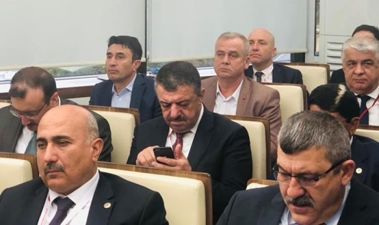 Barlas ve Yazıcı, TBB Meclis Toplantısına katıldı