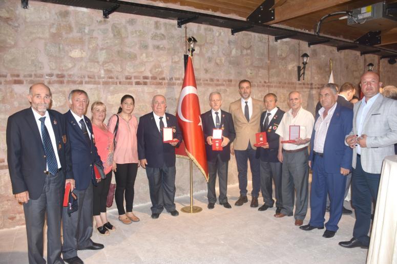 Kıbrıs Gazileri Milli Mücadele Madalyalarını Aldı