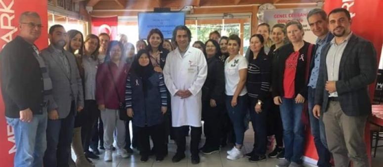 Silivrili Kadınlar Meme Kanseriyle İlgili Bilgilendirildi