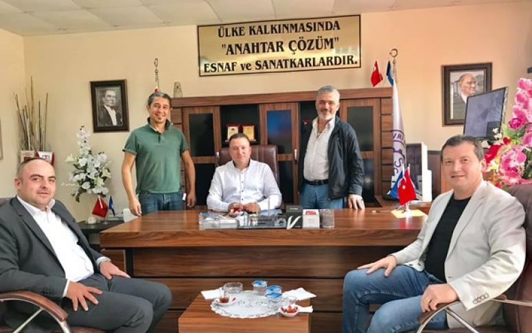 CHP'li Meclis Üyelerinden Çalışkan'a ziyaret