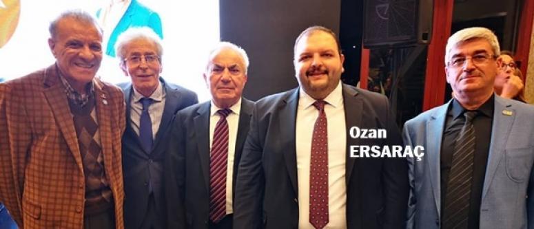 Ersaraç, İYİ Parti'nin 2. Yıl Resepsiyonu'na Katıldı