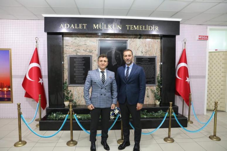 Başkan Yılmaz'dan Cumhuriyet Başsavcısına Ziyaret