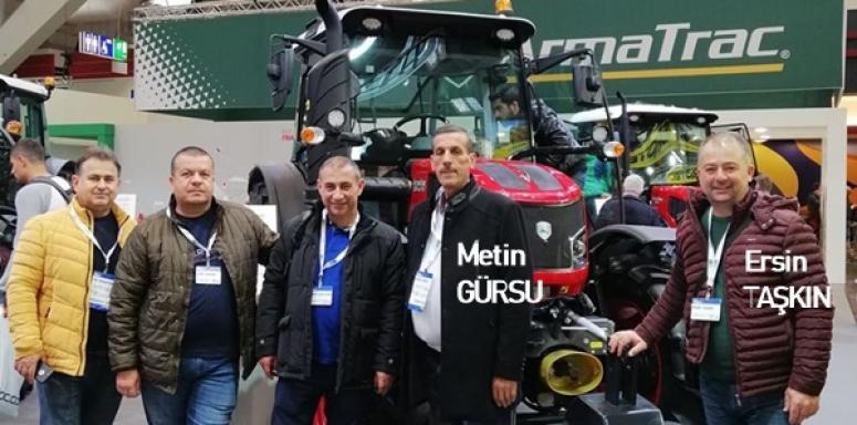 Silivrili çiftçiler, Almanya'da fuara katıldı