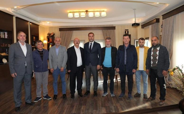 Kulüpler Birliği, Protokol Ziyaretlerine Başladı