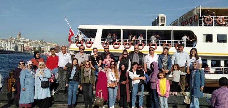 Samsunlular, İBB'nin Beyaz Gezi Turu'na Katıldı