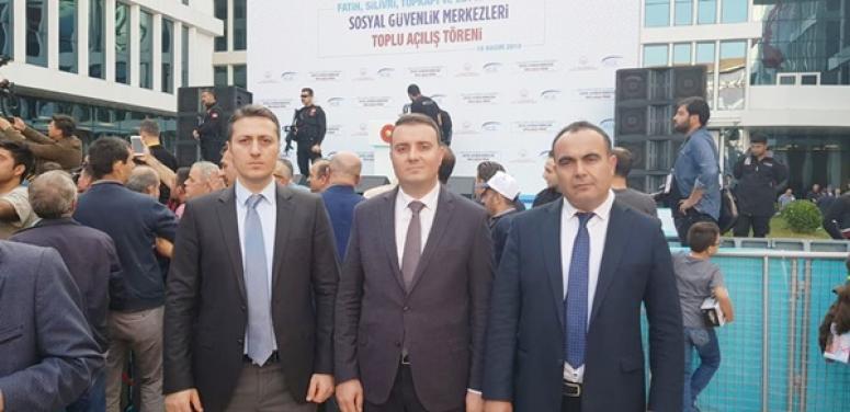 Silivri SGK'nın açılış töreni, Topkapı Kampüsü'nde gerçekleşti