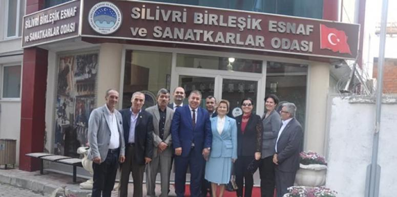 DP Silivri Heyeti, Ziyaretlere Başladı