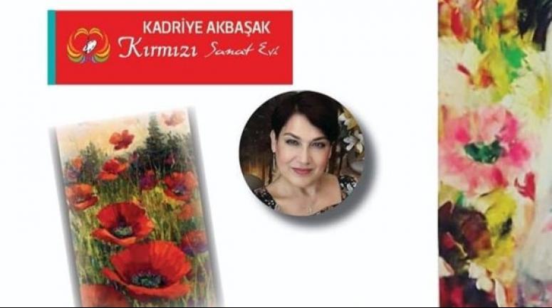 Kadriye Akbaşak'ın sergisi, Pazartesi günü açılıyor