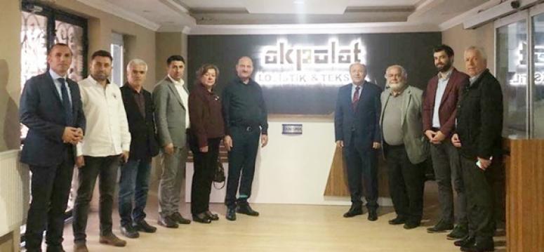 SİAD'tan, Akpolat Lojistik&Tekstil'e ziyaret
