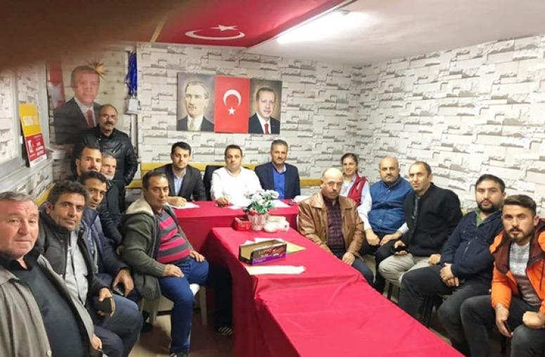 AK Parti Gümüşyaka'da, Haftalık Değerlendirme Toplantısı Yapıldı