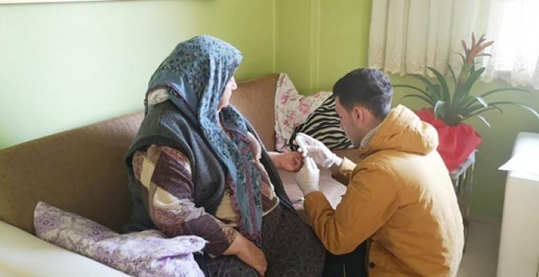 Küçükkılıçlı'da Vatandaşlara Sağlık Taraması Hizmeti