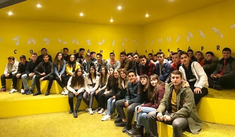 TÜRAM Öğrencileri, Turkcell Diyalog Müzesi'ni Deneyimledi