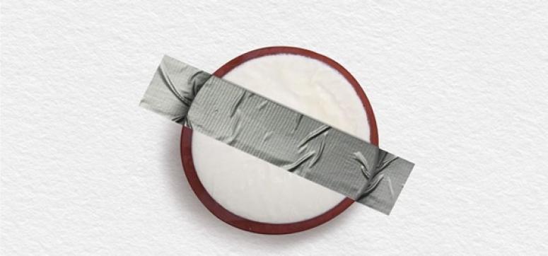 Silivri Usulü Sanat Eseri: Duvarda Silivri Yoğurdu!