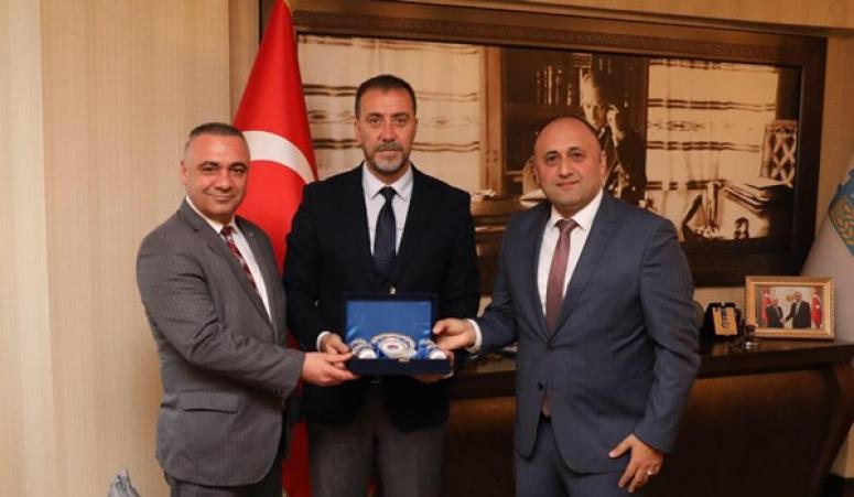 Türk Metal Sendikası'ndan Başkan Yılmaz'a ziyaret