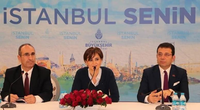 Silivri'nin CHP'li İBB Meclis Üyeleri, toplantıdaydı