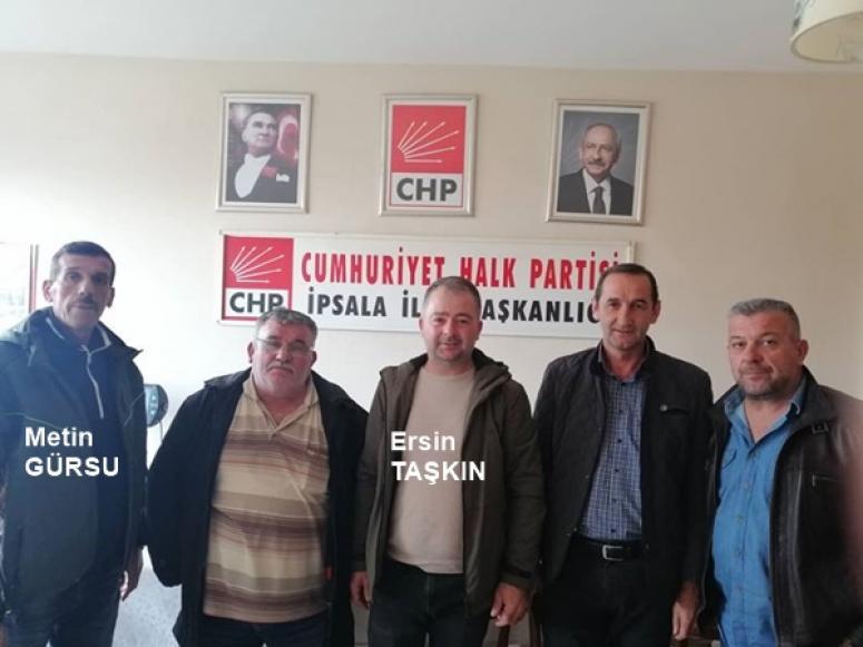 CHP'li Taşkın'dan İpsala'da Bir Dizi Ziyaret