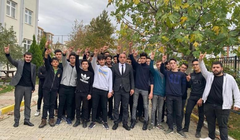 Bedel'den Genç Teşkilatçılara ve Okul Müdürlerine Ziyaret