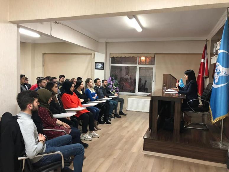 Sultan Aşkın, Silivri Ülkü Ocaklarında Seminer Verdi!