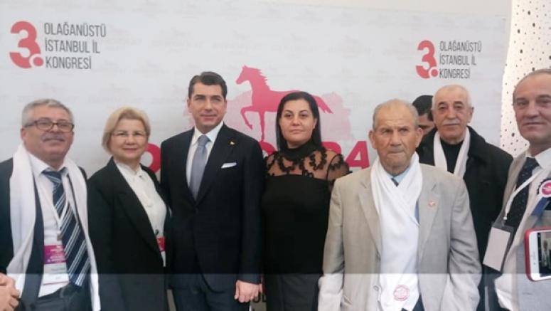 Avlu, DP'nin 3. Olağanüstü İstanbul İl Kongresi'ne Katıldı