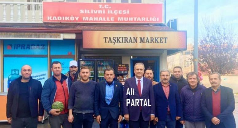 Kaymakam Partal'dan Kadıköy Çıkarması