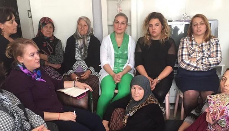 Kadın Meclisi'nden Büyüksinekli'de ev ziyareti
